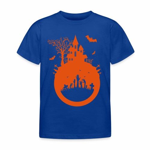 Halloween Design - Das Spukhaus - Kinder T-Shirt