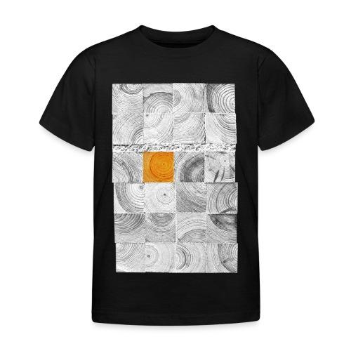 Cubes de Bois - T-shirt Enfant