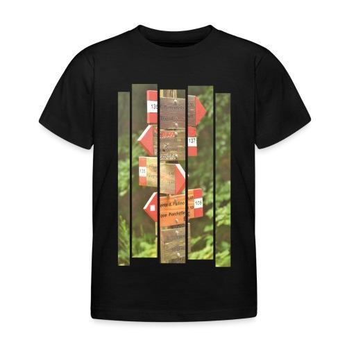 De verwarde hike - Kinderen T-shirt