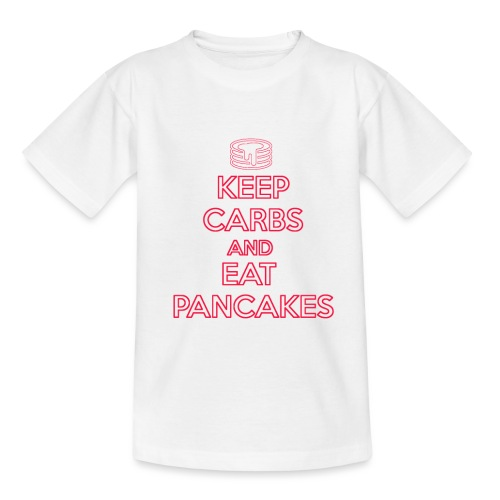 KEEP CARBS AND EAT PANCAKES - Maglietta per bambini