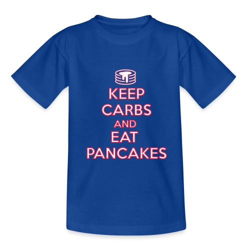 KEEP CARBS AND EAT PANCAKES - Maglietta per bambini