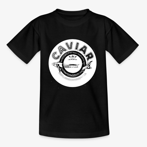 Caviar Black / White - Kids' T-Shirt