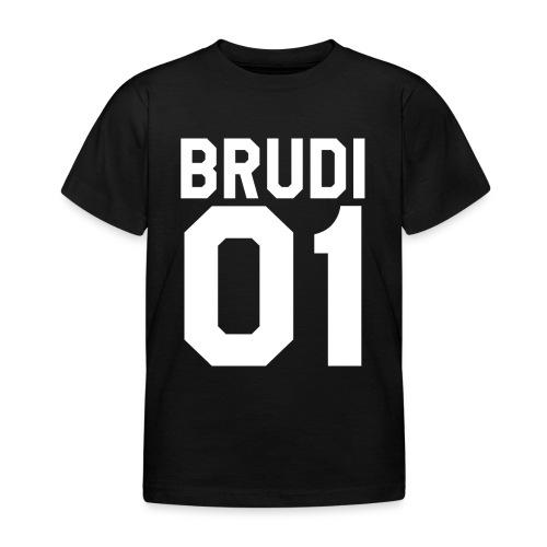 Brudi 01 Geschwister Beste Freunde Partnerlook - Kinder T-Shirt