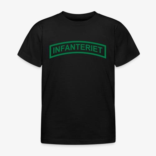 INFANTERIET enfärgad - T-shirt barn