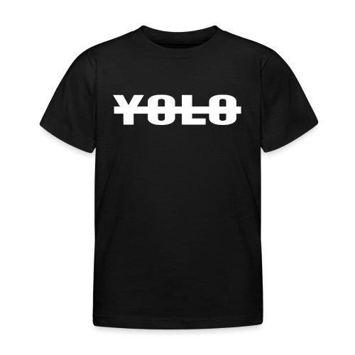 NO YOLO - T-shirt Enfant