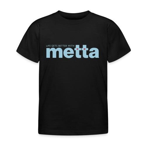 METTA_WHITE - Kids' T-Shirt
