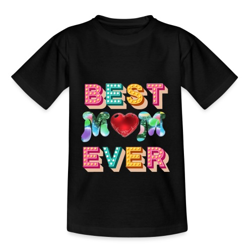 best mom ever5 - T-shirt barn