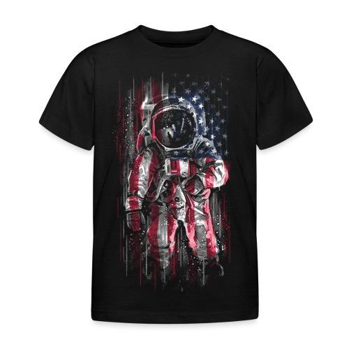 Astronaut Flag - Kids' T-Shirt
