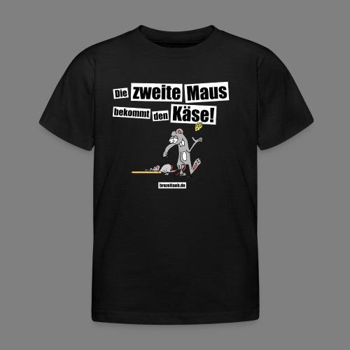 Die zweite Maus - Kinder T-Shirt