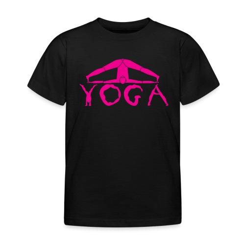 yoga yogi viola spiritualità amore namaste sport - Maglietta per bambini