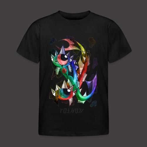 Poisson multi-color - T-shirt Enfant