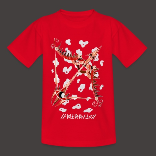 Sagittaire Négutif - T-shirt Enfant