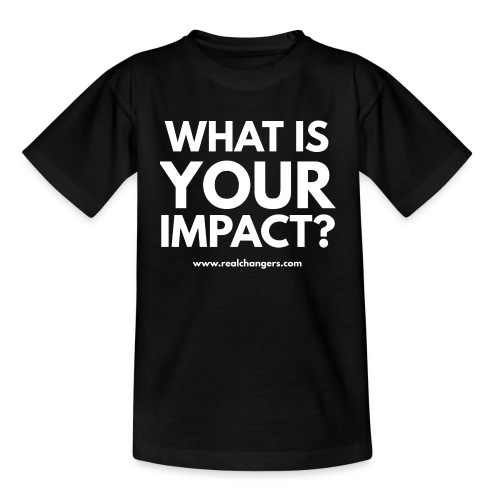 whatisyourimpact - Kids' T-Shirt