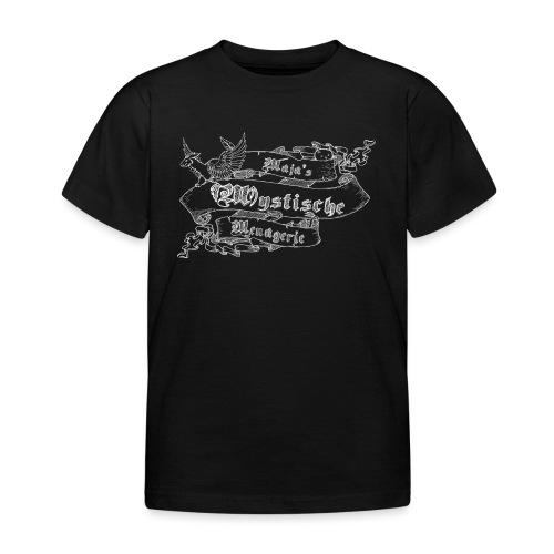 Schriftband Maja's Mystische Menagerie - Weiß - Kinder T-Shirt