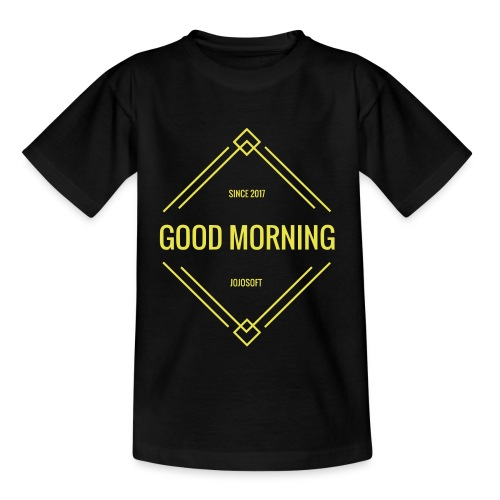GOOD MORNING - Kinder T-Shirt