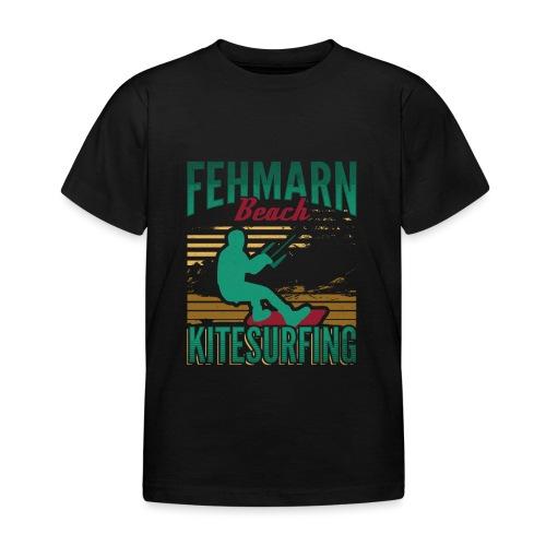 Kitesurfing Fehmarn - Kinder T-Shirt