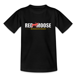 Red Moose logo - T-shirt barn
