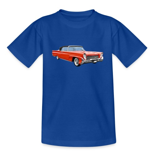 Red Classic Car - Kinderen T-shirt
