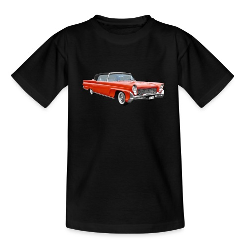 Red Classic Car - Kinderen T-shirt