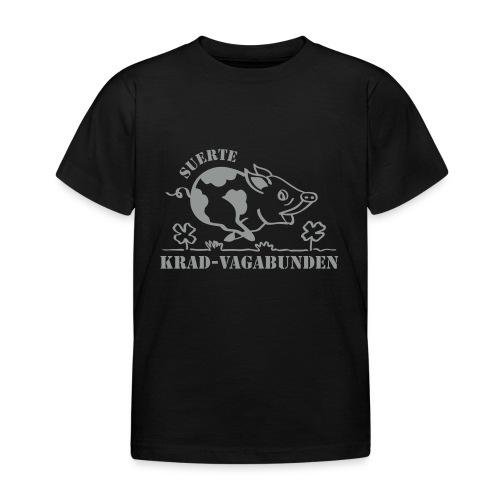 Krad-Vagabunden Glücksschwein V2 - Kids' T-Shirt