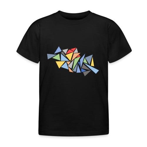 Modern Triangles - Kids' T-Shirt