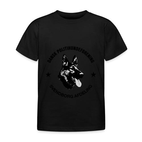 Svendborg ph sort - Børne-T-shirt