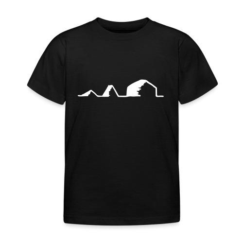Schwarzzeltevolution - Kinder T-Shirt