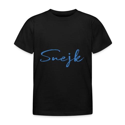 Snejk - T-shirt barn