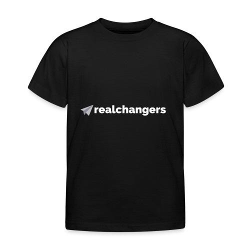 realchangers - Kids' T-Shirt