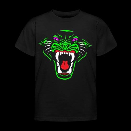 Panther logo tshiret png - Kids' T-Shirt