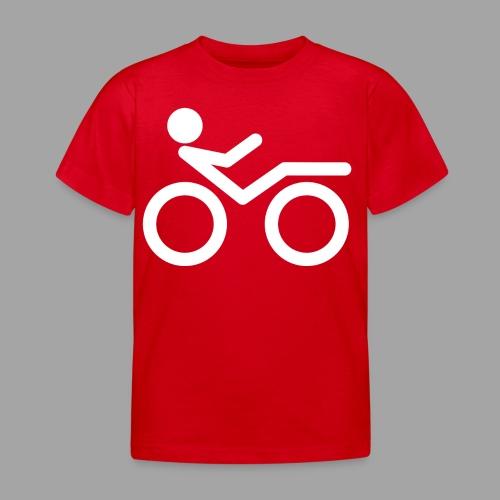 Recumbent bike white 2 - Lasten t-paita