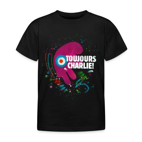 Toujours Charlie interprété par l'artiste C215 - T-shirt Enfant