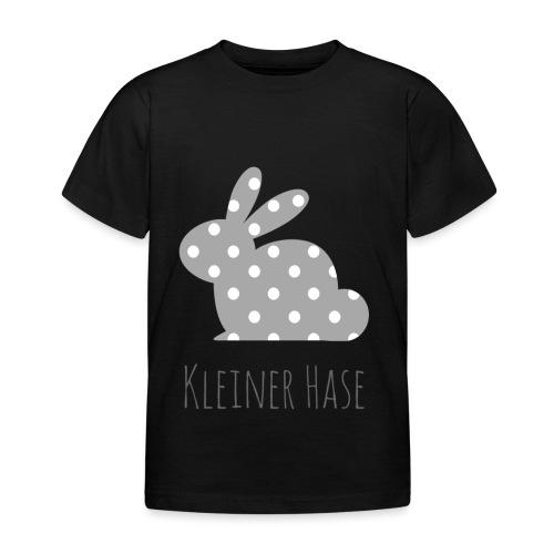 Hase grau - Kinder T-Shirt