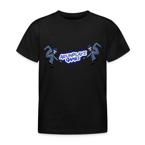 ArunPlayzGames Banner - Kids' T-Shirt