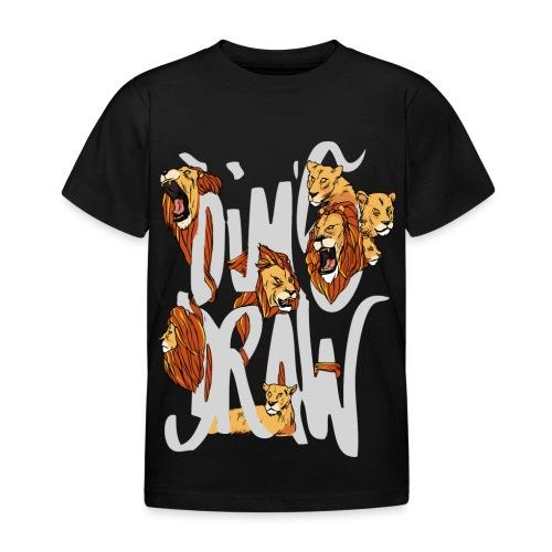 DimsDraw x Lions (White) - T-shirt Enfant