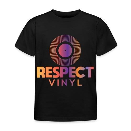 Disco Sisco • Respect Vinyl - Kinder T-Shirt