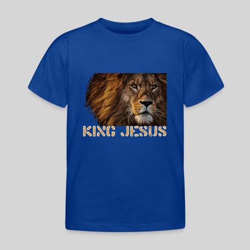 König Jesus der Löwe von Juda - Kinder T-Shirt