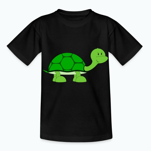 Totte Turtle - Appelsin - T-shirt barn