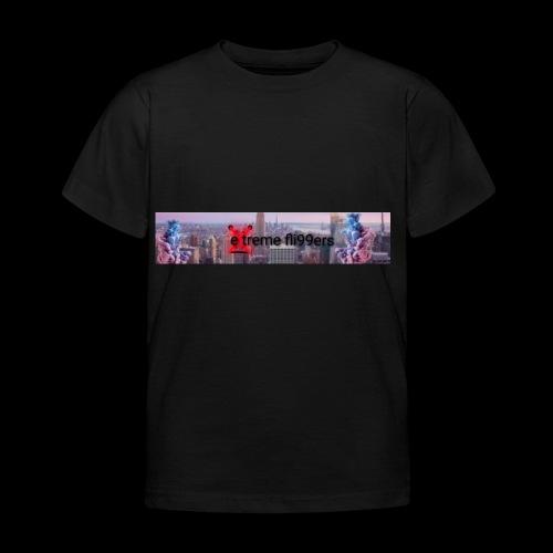 eXtreme fli99ers tryck på en tröja. - T-shirt barn