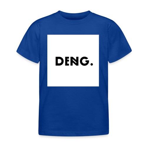 DENG-Druck Bold Trend (Init: Dennis Nguyen) - Kinder T-Shirt