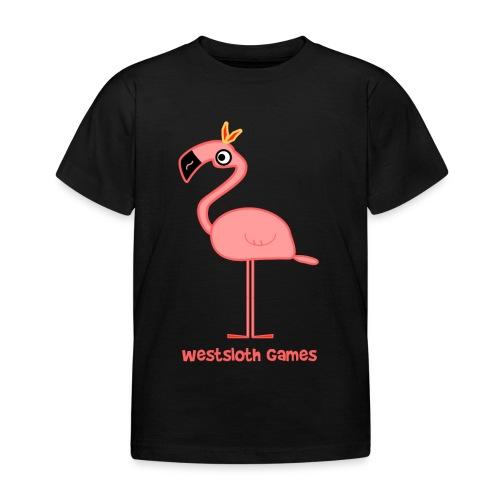 Basic Flamingo - Lasten t-paita