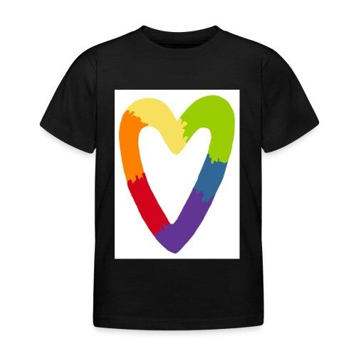 Sydän - Lasten t-paita