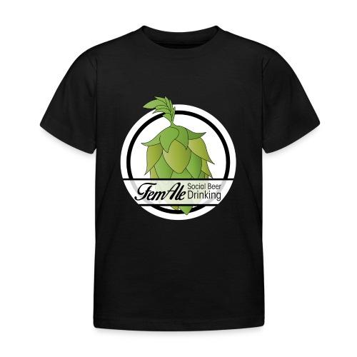 FemAle logo vit 01 png - T-shirt barn