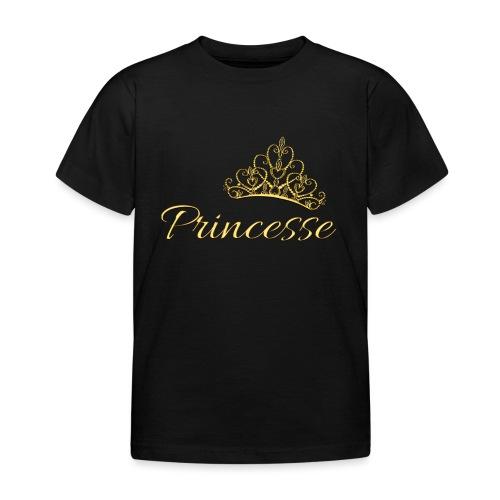 Princesse Or - by T-shirt chic et choc - T-shirt Enfant