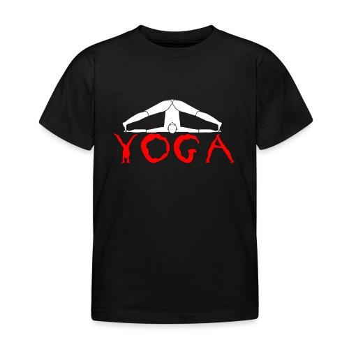 yoga yogi sport bianco namaste amore pace hippie - Maglietta per bambini