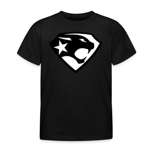 SUPER BLACK PANTHER - Kinder T-Shirt