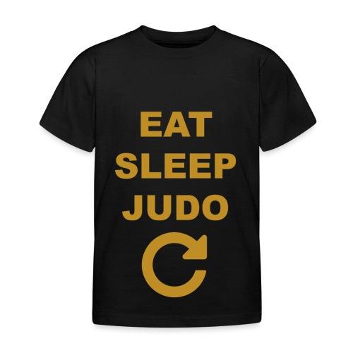 Eat sleep Judo repeat - Koszulka dziecięca