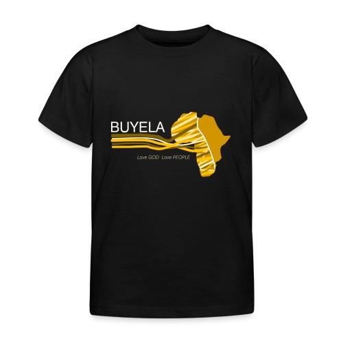 Buyela Africa loops - Kinder T-Shirt
