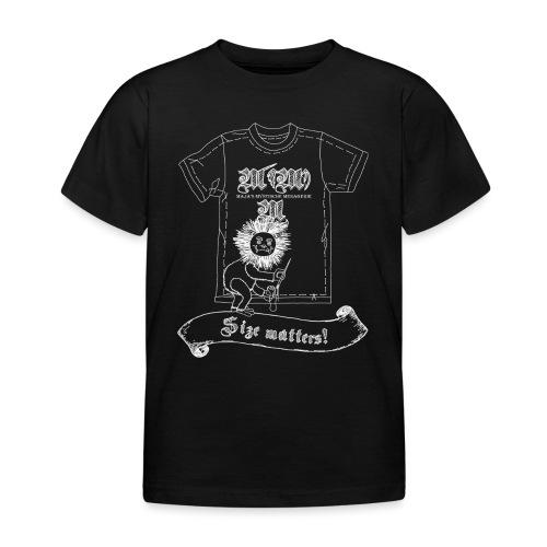 Size matters (Karlchen die Kalorie) - Weiß - Kinder T-Shirt