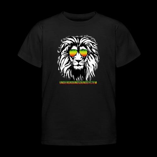 RASTA REGGAE LION - Kinder T-Shirt